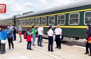 全国唯一高考专列发车 16年运送3万考生