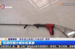 使用非法枪支还上山打猎 村小组长被刑拘