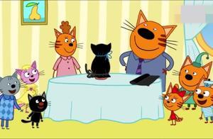 咪好一家:庆祝黑猫日,大家放弃抓住幸运的尾巴跑去救史墨奇猫咪