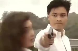 《火玫瑰》罗嘉良用温兆伦逼着温碧霞跳楼,被警察当场枪决!