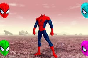 给蜘蛛侠找正确的头像面具