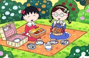 樱桃小丸子:小丸子也想做便当,被姐姐说是跟屁虫