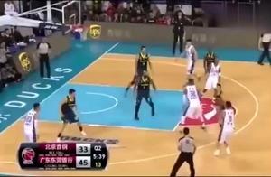 孙悦刚从NBA回国打球太残暴,简直是欺负人,不过现在却不行了