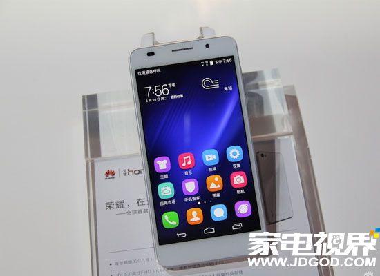 华为荣耀6选用麒麟920 外观设计神似iPhone