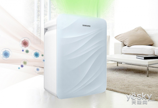 想要自由呼吸 空气净化器打造清新空气环境