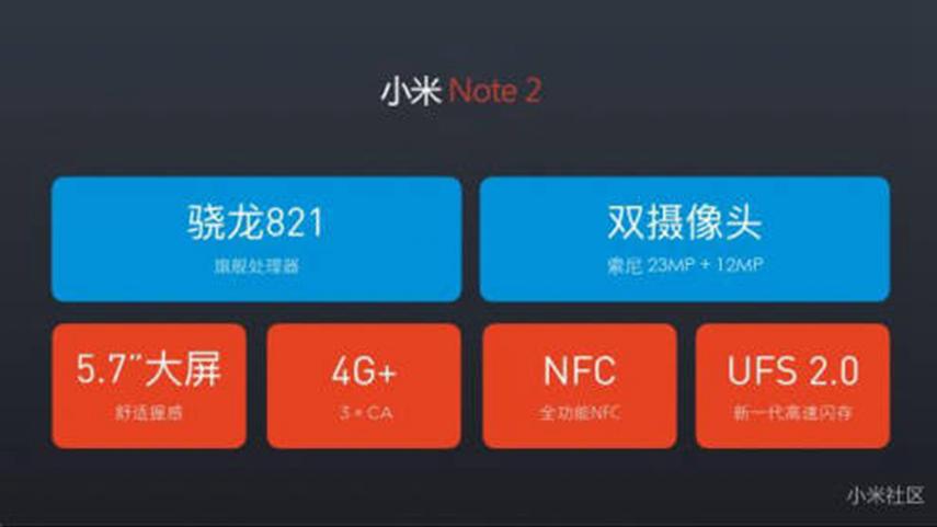小米手机note2市场价曝出!成本费三千上下!光曲面屏幕成本费就一千!