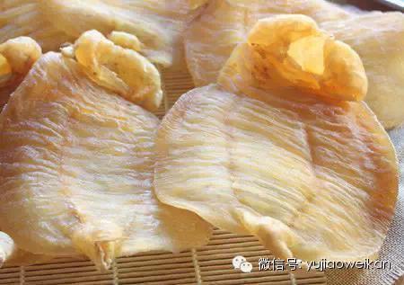 鱼胶[花胶]的营养功效及涨发烹制