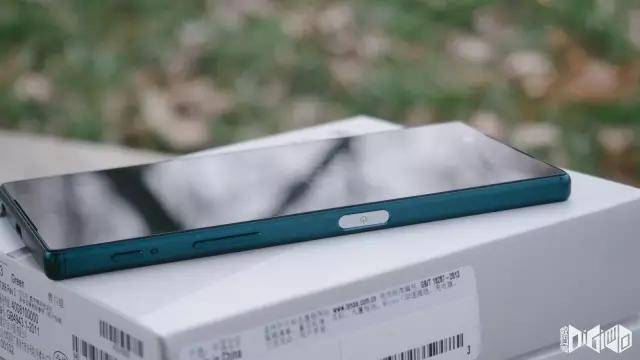 sonyXperia Z5双卡双待版青川绿拆箱