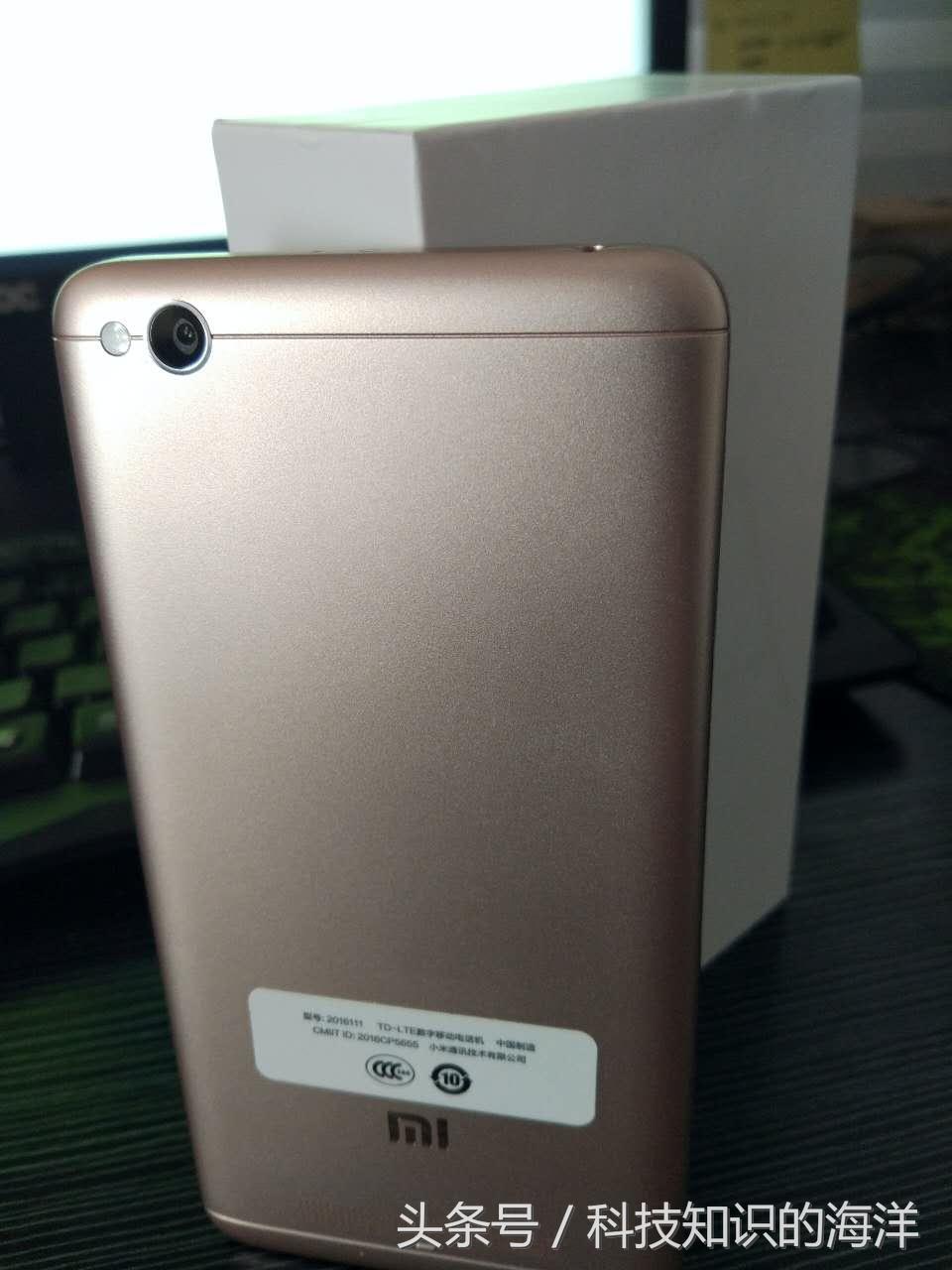双十一 新鮮货 红米4A详细拆箱 手机3d游戏界面测评