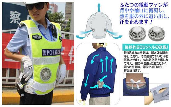 交警穿3000元背心被捐赠单位忽悠 电风扇衣服值3000你信?
