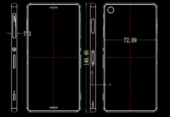 sony旗舰级新手机XperiaZ3有着纤薄设计方案