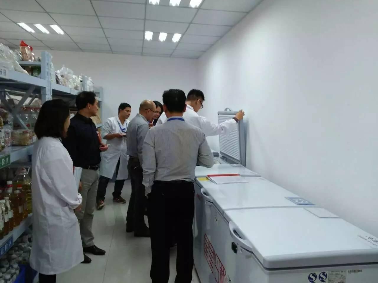 热烈欢迎自治区食药监局领导和专家莅临广西中检联检查视察指导