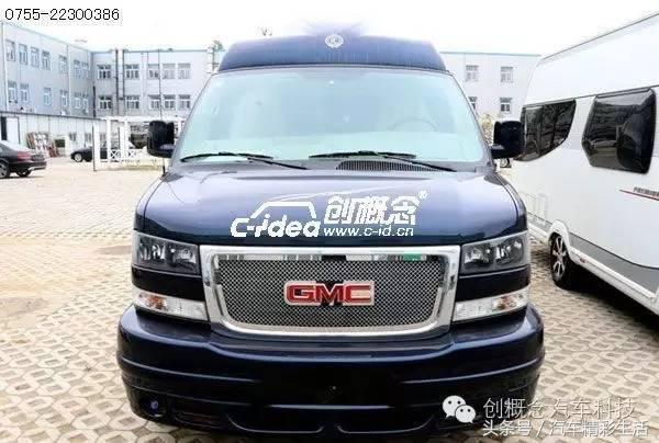 GMC商务与旅行的个性内饰改装