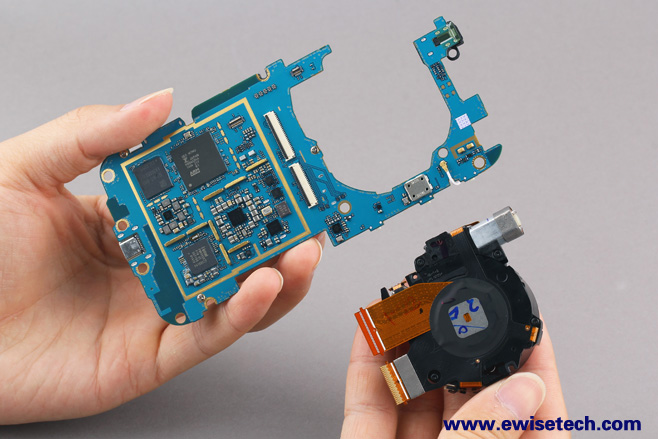e拆卸:跨界营销手机上GALAXY K Zoom