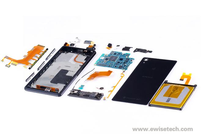 e拆卸:SONY Xperia Z2,內部整齐,排热有创意
