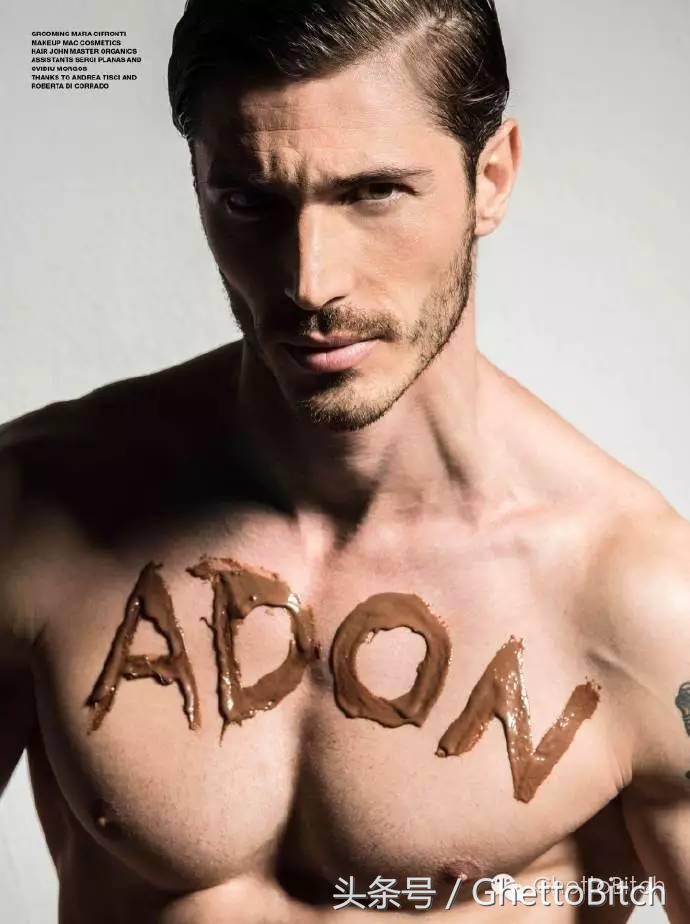 同志时尚杂志《ADON》经典大片,性感身材 硬朗深邃五官