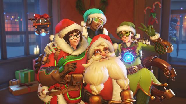 《守望先锋》圣诞皮肤TOP12排名:托比昂圣诞老人最亮眼