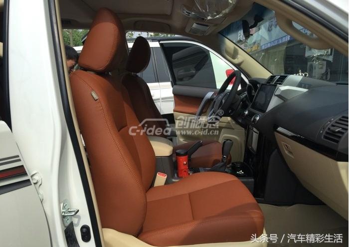 霸道改装棕色真皮座椅给不一样的舒适体验!