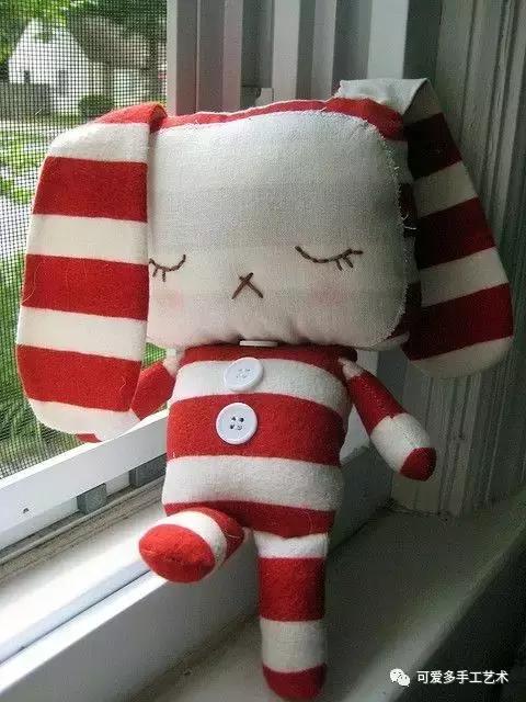 用旧衣服给孩子做几个小动物玩偶,第一个就爱不释手了! 旧衣服做动物玩偶 第42张