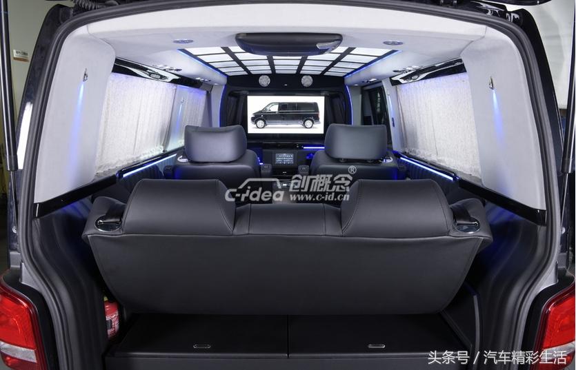大众T6豪华内饰改装体验不一样的商务之旅!
