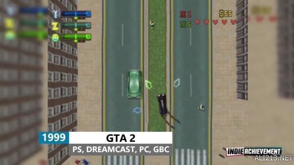《侠盗猎车手》系列进化史 20周年之际讲述GTA的前世今生!