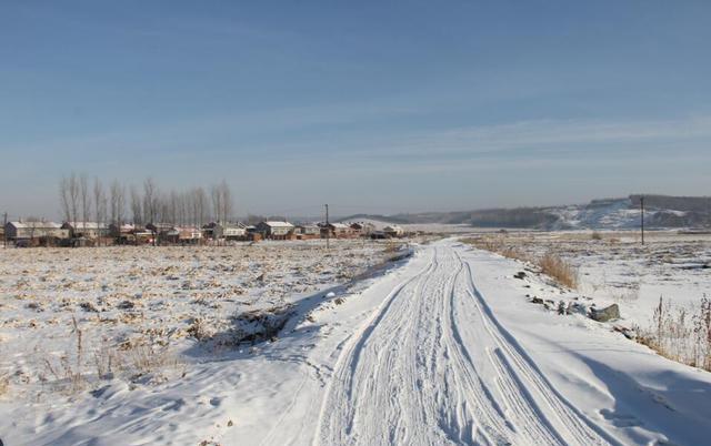 东北农村的冬季,银装素裹冰冻三尺,透着屏幕都能感受到凉气