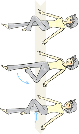 <b>【二胎产假】:睡前五分钟骨盆减肥操(图)</b>