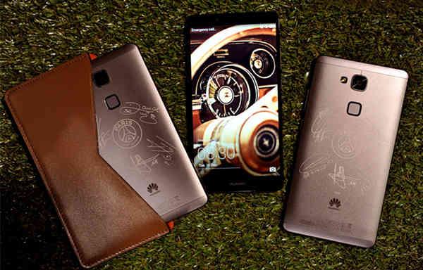 华为公司与法国巴黎巴黎圣日尔曼联合打造出限量版手机