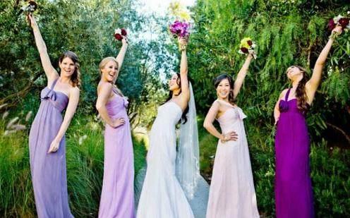 婚礼上伴娘不能穿的3种颜色 给人当