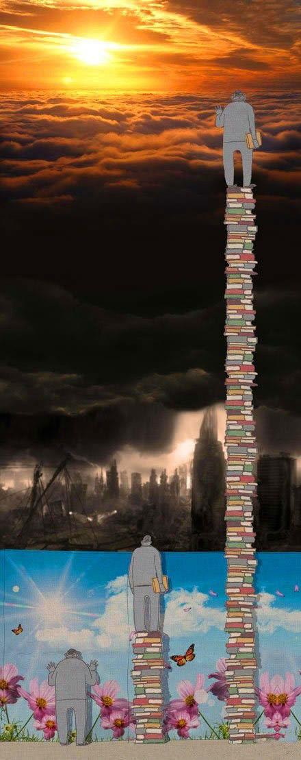 刷一千遍朋友圈不如读一本书