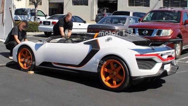 广州本田神密超级跑车现身,或将变成最便宜的敞篷车超跑