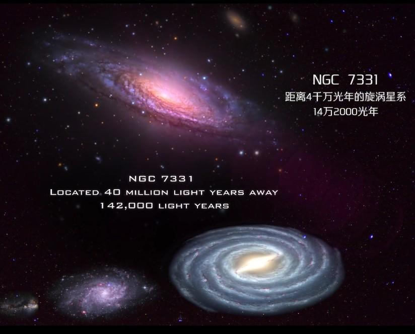 宇宙最大的10个星系,银河系只是沧海一粟-第3张图片-IT新视野