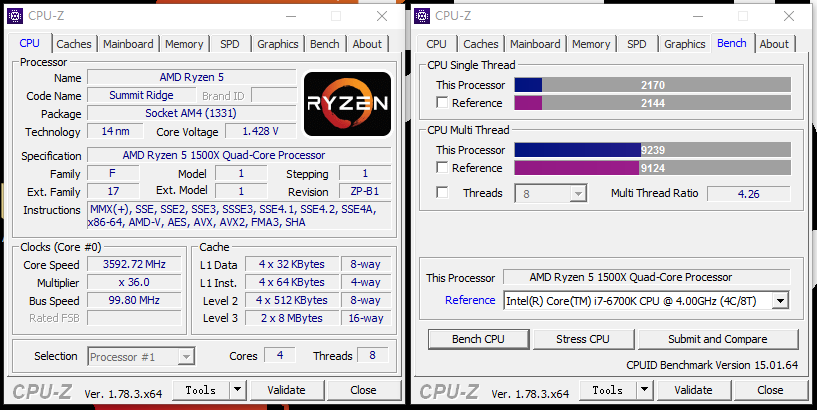 主流玩家首选神U!AMD 锐龙5 1500X处理器评测