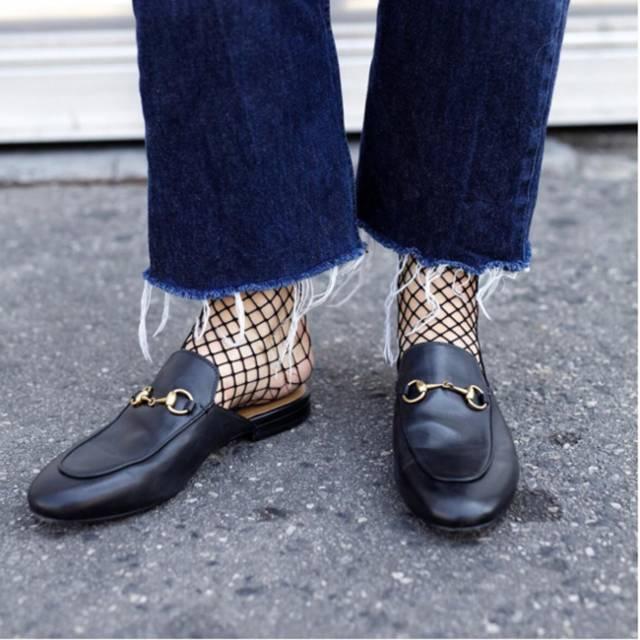 渔网袜怎么穿才好看