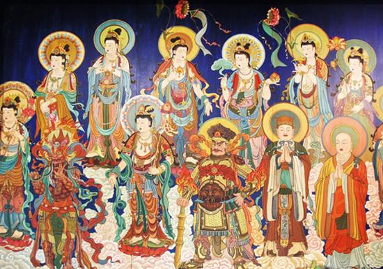 收藏知识点:一图让你识遍佛教的三界二十八天!