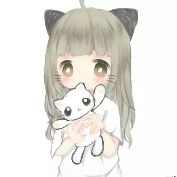 动漫女生猫耳系列头像 有没有萌化你们啊