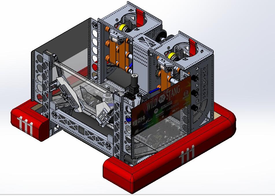 WildStang机器人车三维建模图纸 SOLIDWORKS