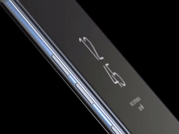 三星 Note8有着6.3寸显示器,超过Galaxy S8