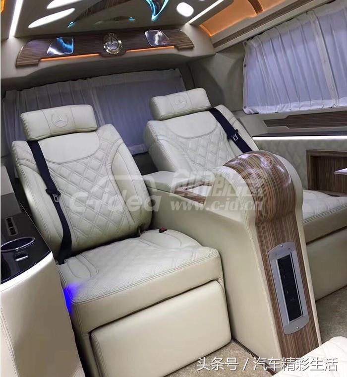 奔驰V-Class最新改装方案奢华商务内饰