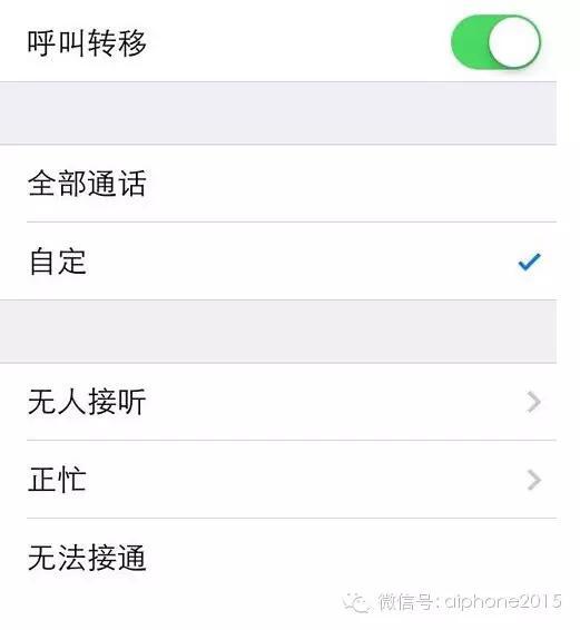 苹果手机如何设置呼叫转移(苹果呼叫转移保存不了)