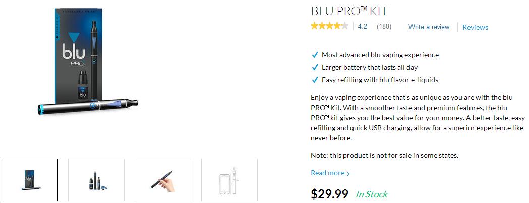 相同版本的纸牌屋,美国BLU PLUS +电子烟,超级详细的评估