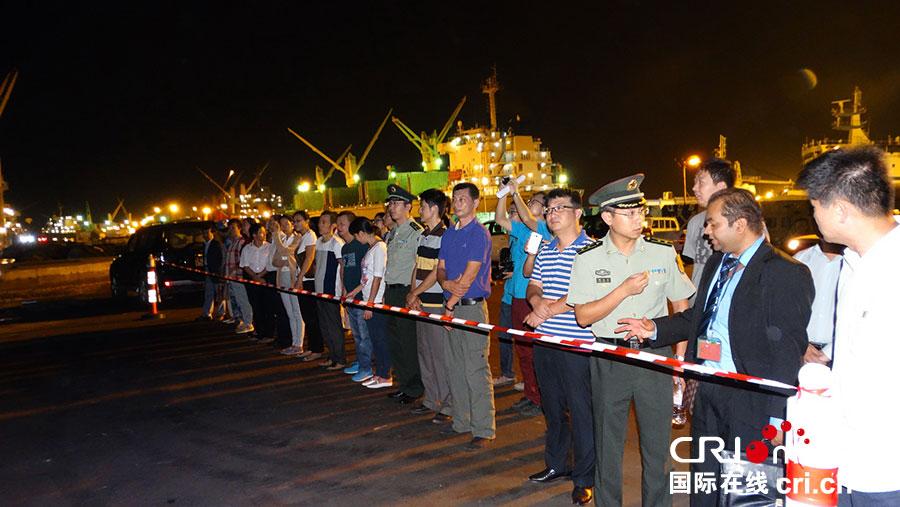 人道情怀和大国担当-中国军舰协助撤离中外公民侧记