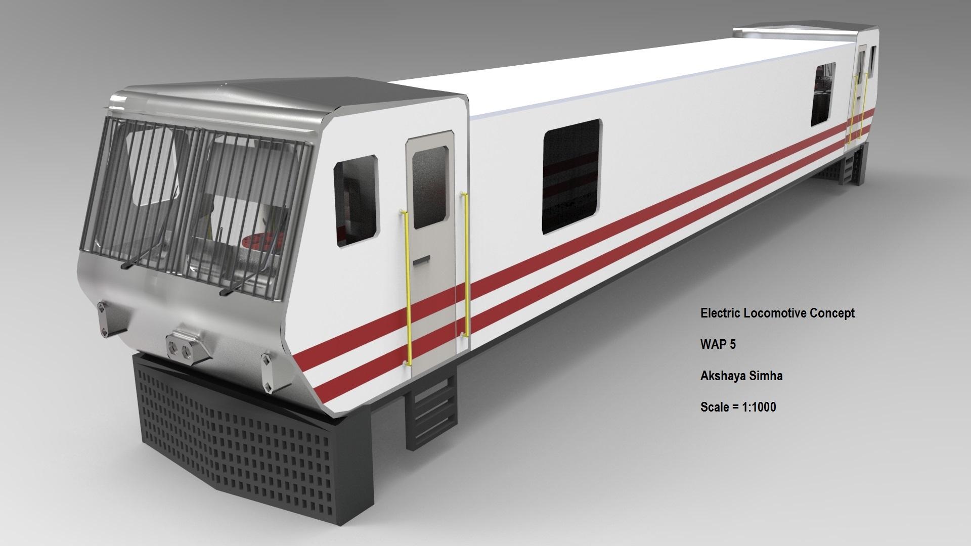 简易有轨电力机车三维建模图纸 SOLIDWORKS设计