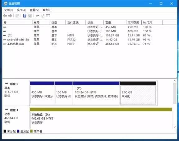 实用教程,教你如何安装Win10+安卓双系统