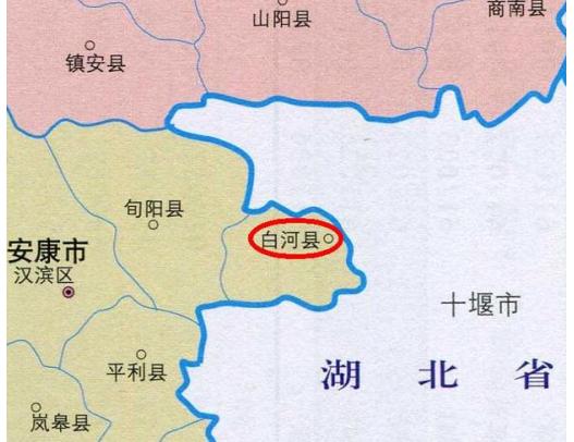 陕西省一个县,人口超20万,被湖北省三面包围!
