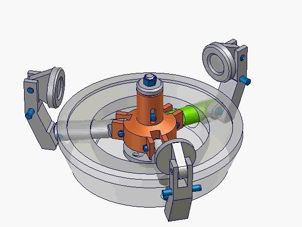 240个机械机构(构件原理)动态演示视频 avi格式
