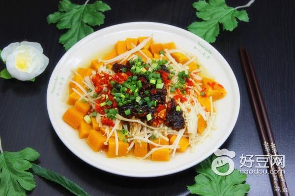 【夏季营养】开胃不上火的蒸菜,剁椒蒸南瓜