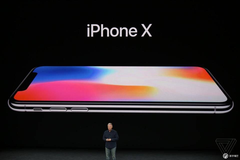 iPhone iPhone X 宣布出场:5.8 英尺全面屏手机   Face ID 人脸识别