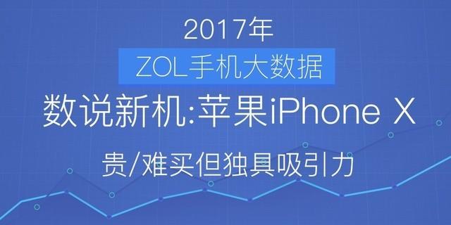 数说苹果iPhone X:贵/难买但独具一格诱惑力
