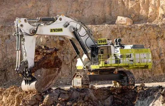 利勃海尔R9150矿用防挖掘机汇报